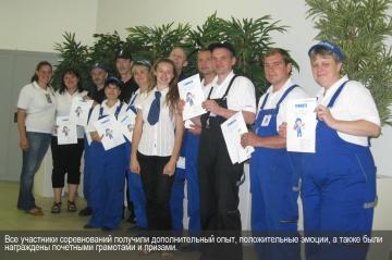 Все участники соревнований получили дополнительный опыт, положительные эмоции, а также были награждены почетными грамотами и призами.