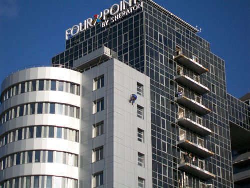 """Shaden group"" выполнила генеральную уборку всего номерного фонда гостиницы Four Points by Sheraton Zaporozhye"