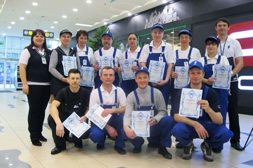 в соревнованиях приняли участие 11 сервисных сотрудников компании Shaden group