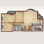 4room_(5-Sect_6-17-floor)_164.45-m_4B