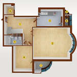 5room_(8-Sect_24-floor)_221.62-m_5A_level1